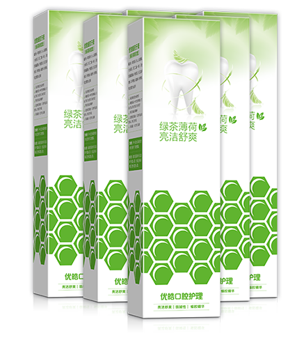 蜂胶牙膏(绿茶薄荷香型)